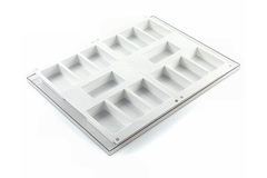 silikomart Набор форм для мороженого Брикет La Gelateria 8,7см BISC01