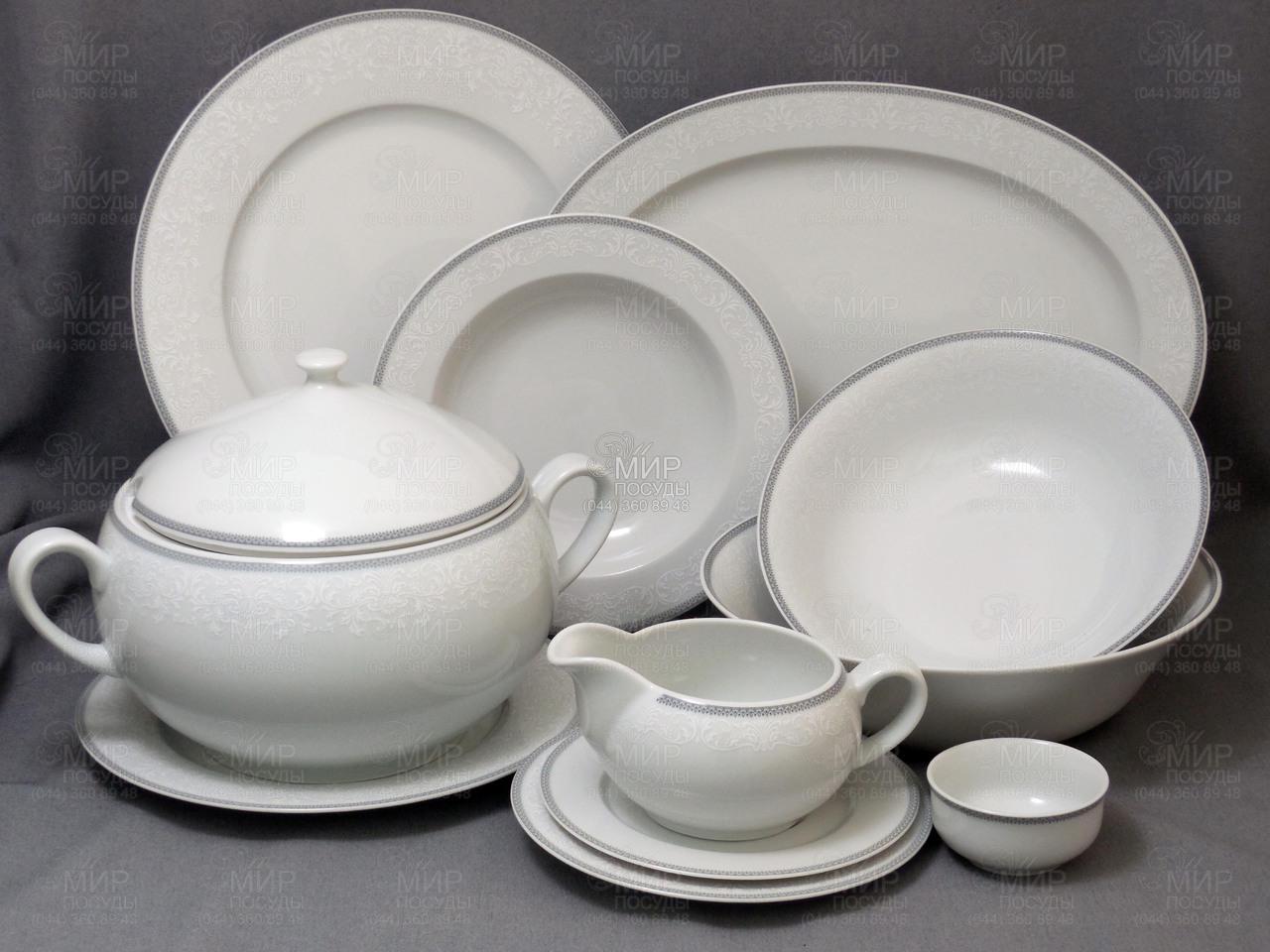 Купить столовый сервиз Opal 8034800 6 27 Thun   Чехия за 6568 грн в ... 8119bdbf1b63e