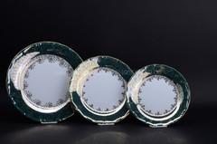 посуда  263-nabor-tarelok-mariya-tereza-mt03002-zl-raz-zeleniy-zolotaya-pechat-6-18
