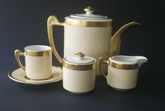 Чайный сервиз Carre Crem Gold 6/15