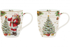 Набор кружек New Year collections Magic Christmas 350мл R1457#MAGI
