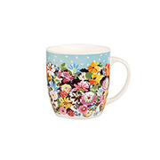 Кружка COLLIER CAMPBELL FLOWER PATCH & GRANDIFLORA 300 мл COCA00351