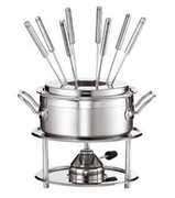 Набор для фондю Stainless Steel 2,2л R91410
